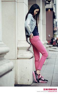 K-SWISS KOREA  sports fashion style   street fashion @seoul