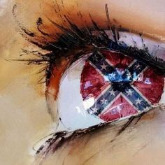 rebel flag eyes this is a really cool picture and their eyes are so cute