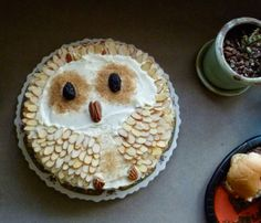 REEVE! owl decorated cake!