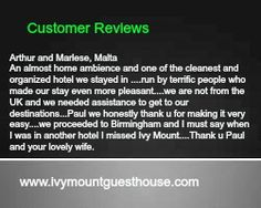 Here Is One Of Our Great Reviews...