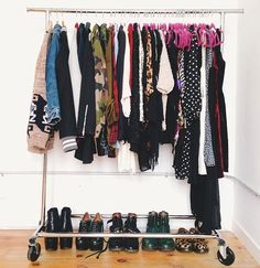 Clothes rack -- soothingsista