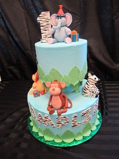 animal birthday cakes | posted in novelty cakes tags 1st birthday cake colorado novelty cakes ...