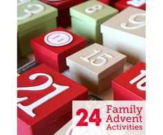 It's not too late to take advantage of this list of 24 Advent activities for families - #22 is super cool!