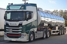 Scania S V8 - Grønaasen Transport Norway - N NF 85716 | Flickr