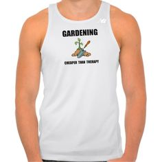 Gardening Therapy New Balance Running Tank Top Tank Tops