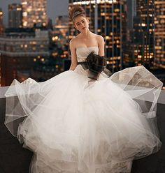 1. A Princess in Tulle…    Price: $1,000 Sash: $58You will not only feel Bridal in this gown, but you will feel like a Princess too. I love the amazing overflowing …