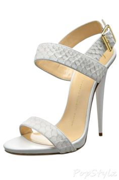 Giuseppe Zanotti Italian Leather Dress Sandal