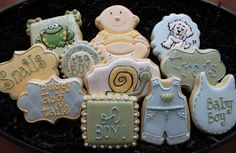 Frogs and snails puppy dog tails snips and by 4theloveofcookies