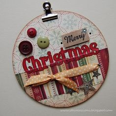 Merry Christmas ~ Altered CD