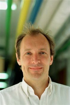 Tim Berners-Lee, inventor of the World Wide Web in 1989