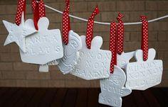 Chasing Cottons: Kids Handmade Christmas Decorations