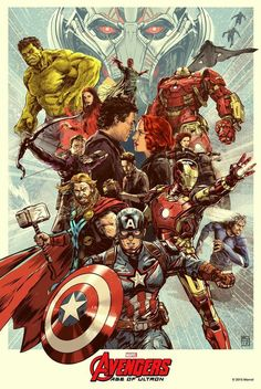 """My piece, titled """"End of the path"""", for the official licensed show of Marvel's Avengers Age of Ultron Show at Hero Complex Gallery. Marvel Dc Comics, Marvel Avengers, Avengers Poster, Marvel Fan, Marvel Heroes, Captain Marvel, Avengers 2015, Marvel Movie Posters, Marvel Characters"""