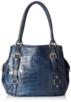 DEL MANO Triple Compartment Satchel Bag, Dark Blue, One Size DEL MANO http://www.amazon.com/dp/B00ZAV1LCA/ref=cm_sw_r_pi_dp_En8hwb16J273R