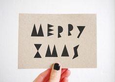merry xmas card - love!