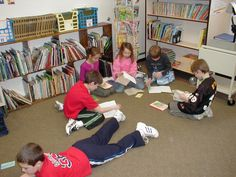 Literacy circles require students to read a book and then get into groups and discuss. Each member of the group has a different role which allows students to each experience a different type of responsibility.  5th Grade Reading Standards: 7. Interpret information presented visually, orally, or   quantitatively   and explain how the information contributes to an   understanding of the text in which it appears  http://www.p12.nysed.gov/ciai/common_core_standards/pdfdocs/p12_common_core_lear