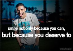 Well said Drake