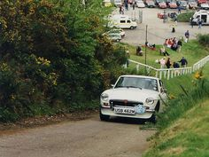 test hill at Brooklands race track I'd love to do a hill climb.