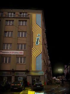 Neon na rynku #Katowice #Informacja