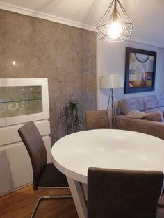 Salon comedor gris y blanco – M2 Al Detalle