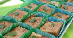 tortinha de casca de pão e de legumes