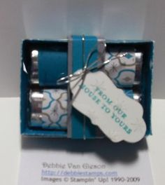stampin up gift boxes - Google Search