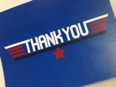 Airplane Birthday Party Thank You Cards - Fighter Pilot Birthday Party Thank You's -  Customize your Color on Etsy, $50.00 Top Gun Party, Air Force Birthday, Party Hacks, Party Ideas, Airplane Party, Party Central, Glow Party, 2nd Birthday Parties, Party Planning