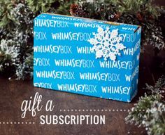 Whimsey Box - maybe this would be a good gift idea?