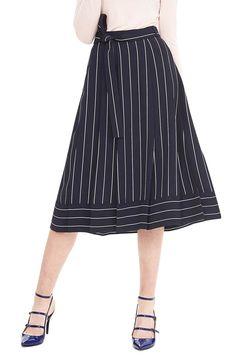Banana-republic-preppy-navy-pinstripe-midi-skirt