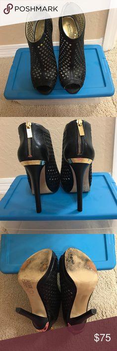 Michael Kors Booty Michael Kors black booties. Size 9. Just too high for me. Make me an offer :) KORS Michael Kors Shoes Heels