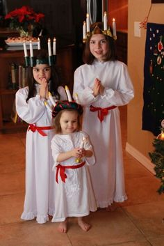 Celebrating St. Lucy, or Santa Lucia...Swedish Christmas celebrations