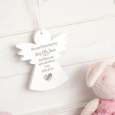 A stunning gift for christenings, £13.99 #christening #whatsnew #personalised #gifts #gifting #wooden #wood #keepsake #decoration #home #interiors #specialsomeone #lifestyle