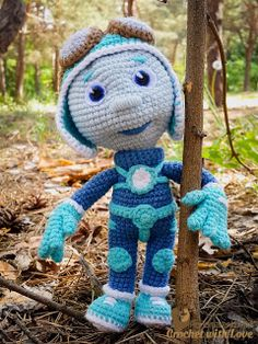 #Crochet with Love. #PonomarenkoHM: #Нолик #Фиксики