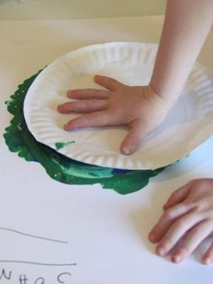 -Read The Earth Book by Todd Parr and then do this Earth paper plate paint activity from teach preschool