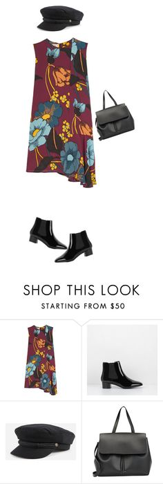 """(.215)"" by isabelski ❤ liked on Polyvore featuring Marni, CHARLES & KEITH, Brixton and Mansur Gavriel"