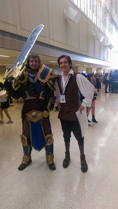 Garen (League if Legends) and Will Turner cosplay at Tokyo in Tulsa 2015! (The WIll Costume was my work)