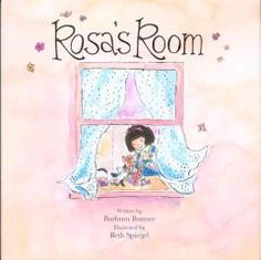 Rosa searches for things that will fill her room in her new home, but it feels empty until she discovers exactly what is missing.