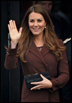 "Catherin ""Kate"" Middleton, Duchess of Cambridge... Palm image"