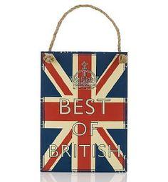 Best of the British plaque