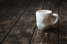 Porcelain Cup by Ikuko Iwamoto - Part of the '5 Cups' Series. Available at Snug Gallery, photo by Ed Chadwick.
