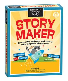 Look what I found on #zulily! StoryMaker Magnet Learning Kit #zulilyfinds