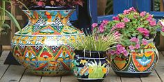 I collect Talavera pottery. I just don't have any yet. (Kit wishes she had written this!)  I feel the same way!