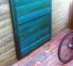 Color Saturated: How To Make a Wood Stain from Regular Paint. Love this idea and color for my barn! Yes!