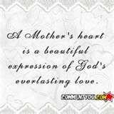 a Mother's heart...God's everlasting love...