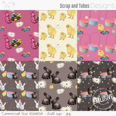 ► New exclusive FREE GIFTS at Scrap and Tubes Store ◄ These 2 gifts are available during the whole month of March /// • EASTER PAPERS - FS/CU4CU (free with $2.00 purchase) • SPRING PAPERS - FS/CU4CU (free with $3.00 purchase) /// For more details, visit this link > http://www.scrapandtubes.com/shop/index.php?main_page=index&cPath=359