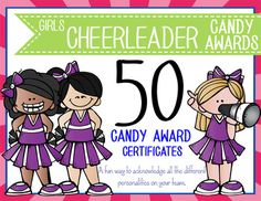 Free printable cheerleading certificates cheerleading awards to need a fun way to acknowledge all the difference personalities on your cheerleading squad this yelopaper Gallery