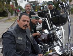 Marcus Alverez( Mayans)- Sons of Anarchy