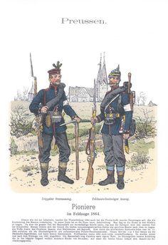 Band XIV #50.- Preußen. Pioniere im Feldzuge 1864.