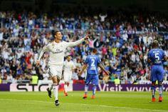 No Bernabéu, intervalo de um jogo maluco: Real Madrid 3x3 Getafe, hat-trick de Cristiano Ronaldo