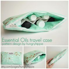 Name: 'Sewing : Essential Oils travel Case Essential Oil Carrying Case, Essential Oil Carrier Oils, Essential Oil Case, Gift Bag Storage, Makeup Travel Case, Makeup Case, Sewing Essentials, Pouch Pattern, Sewing For Beginners
