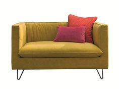 Fabric small sofa LOUIS XIV by Twils design Silvia Prevedello
